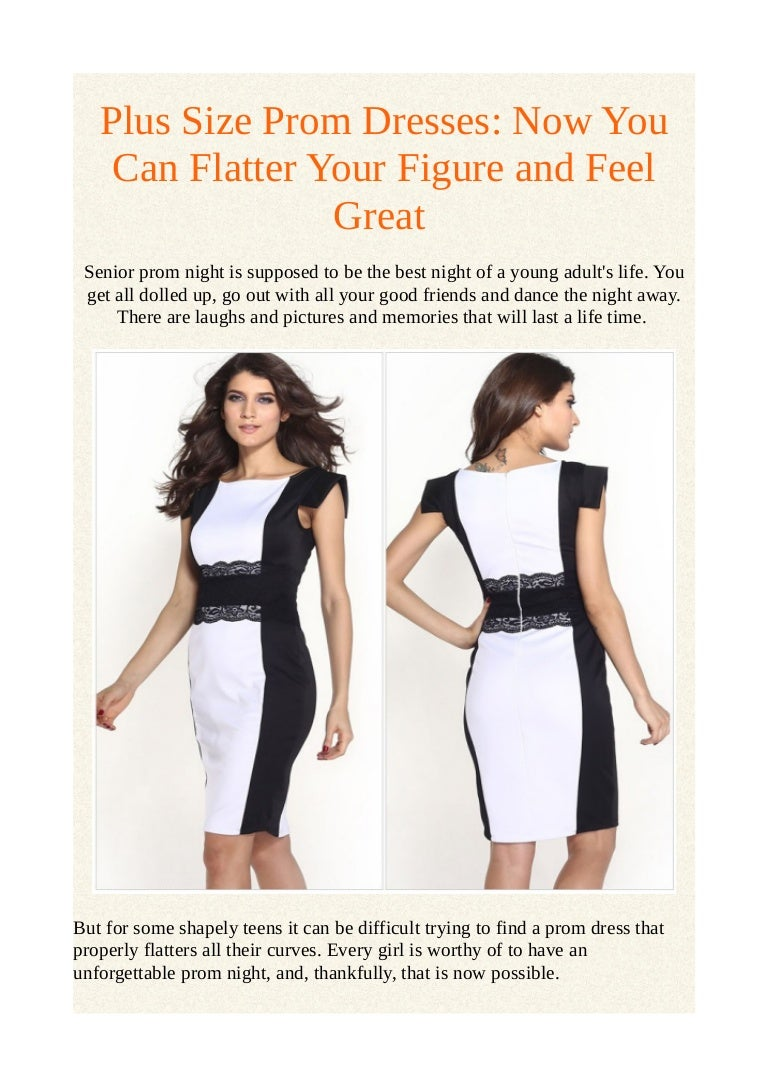 65af47fe9b Plus size prom dresses  now you can flatter your figure and feel great