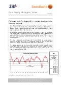 Purchasing Managers´Index Report, August 2011