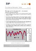 Purchasing Managers´Index Report, November 2011