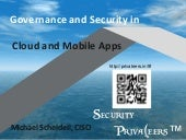 Governance and Security in Cloud and Mobile Apps