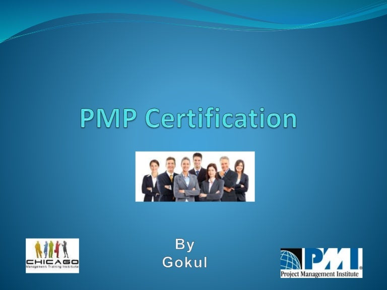 Pmpproject Management Professional Presentation