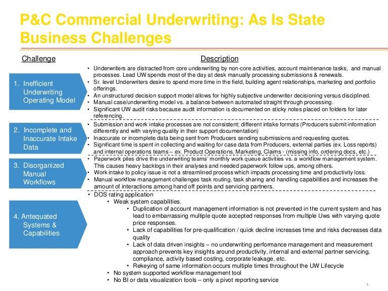 functions of underwriters