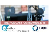 The Podcast Consumer 2018