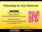 Podcasting for your classroom