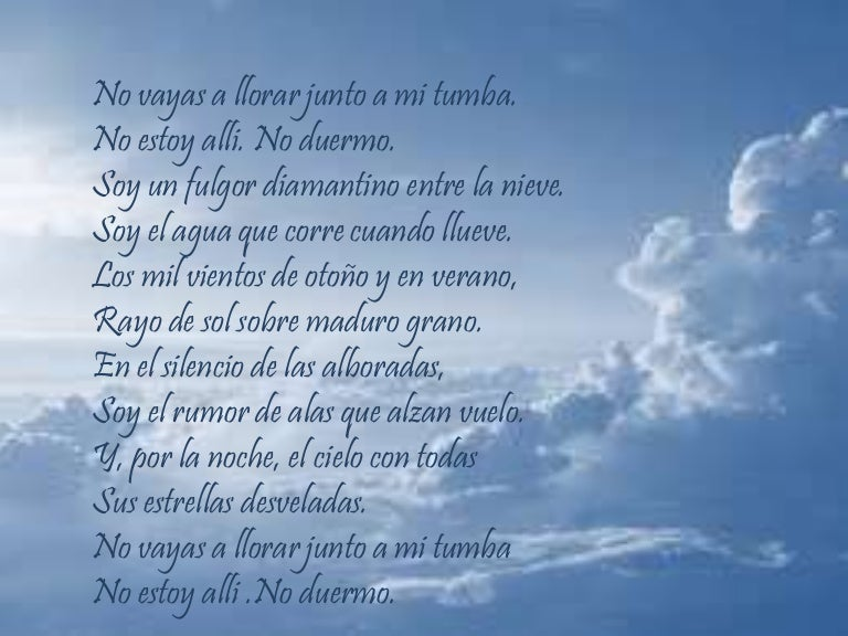 Poema A Mi Mama