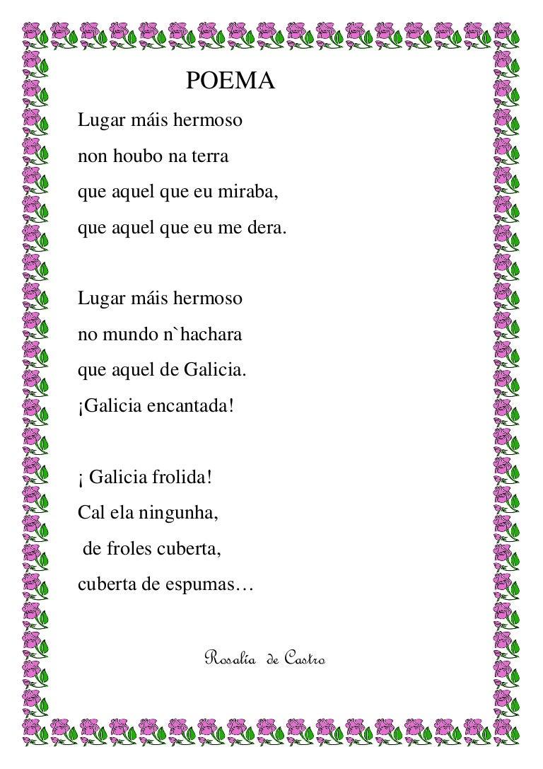 Poemas Rosalía