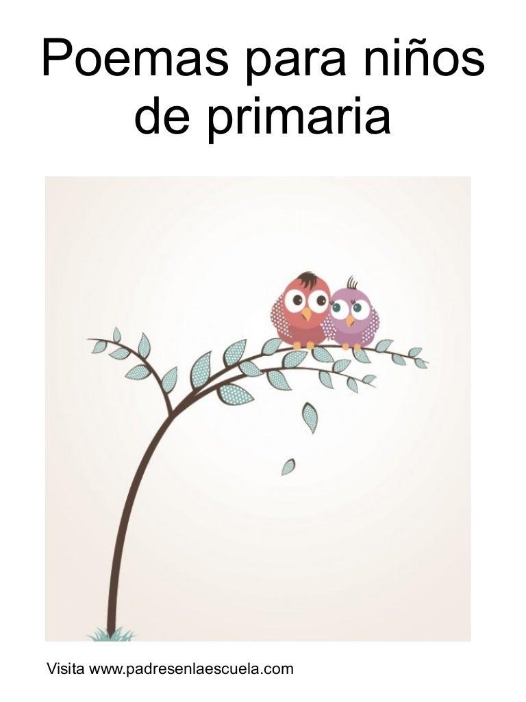 Poemas para ni os de primaria for Buscador de poemas