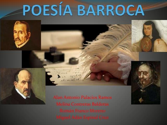 Poesía barroca