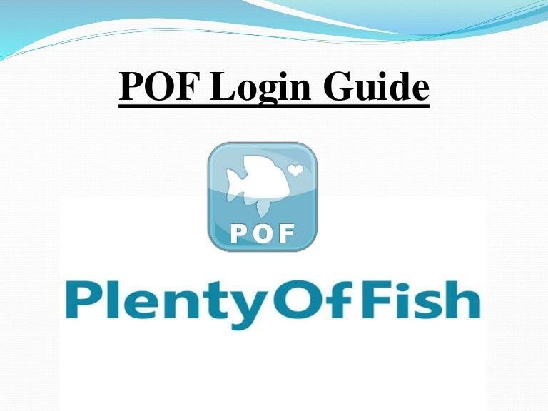 Pof sign in english