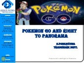 Pokemon go and right to panorama