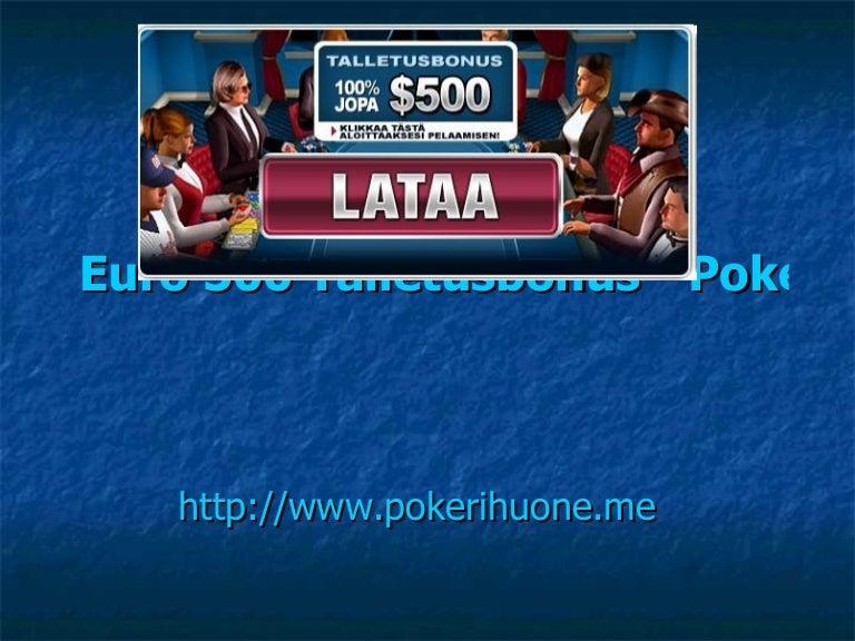 Pokerihuone