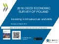 Poland 2016 OECD Economic Survey investing in infrastructure and skills Warsaw 22 March