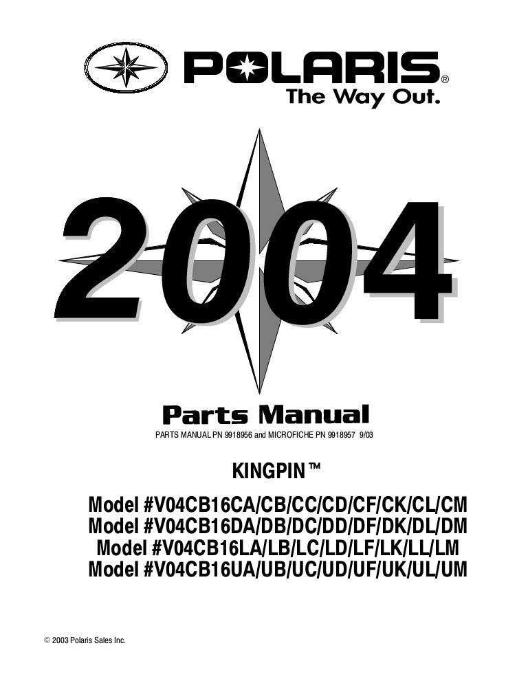 Polaris victory kingpin_parts_manual_2004