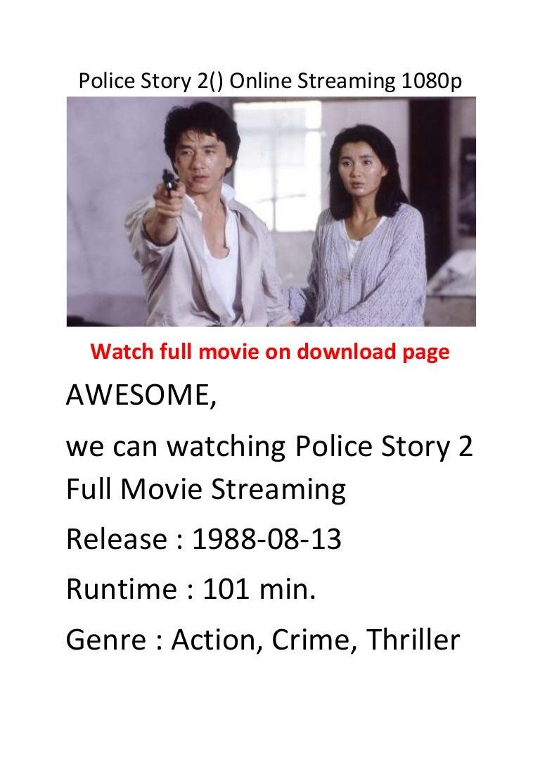 Police Story 2 Stream