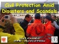 Politics of civil protection in Italy