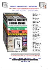 Political  Capability Building Programme @ http://politicalconsultant.net.in