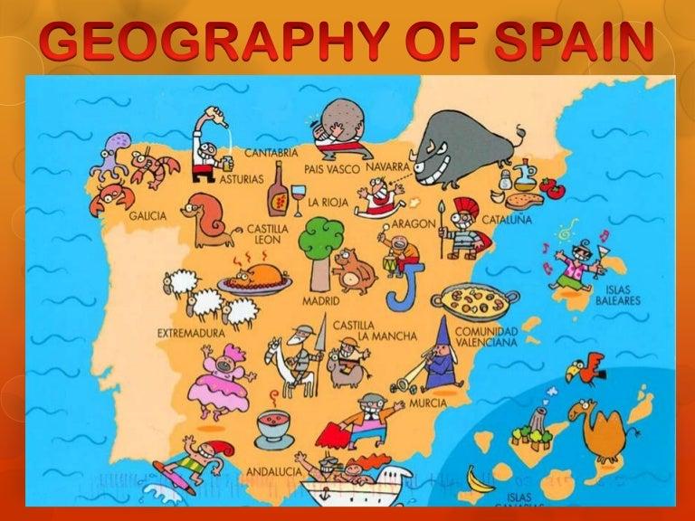 Map Of Spain Political.Political Map Spain