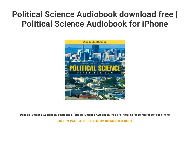 Political Science Audiobook Download Free Political Science Audiobo