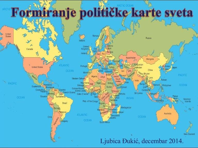 Politicka Karta Sveta Lj đ