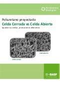 Poliuretano proyectado - Celda cerrada vs Celda abierta