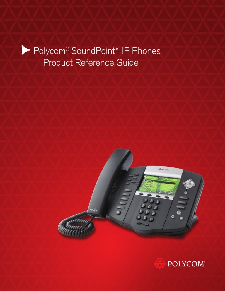 polycom soundpoint range quick reference guide rh slideshare net Polycom SoundPoint Phones Polycom SoundPoint IP 331