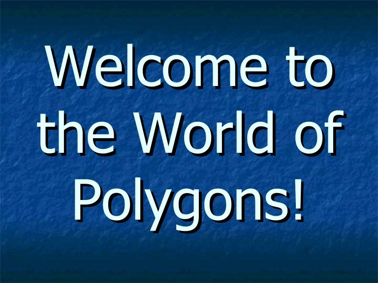 Polygons Powerpoint