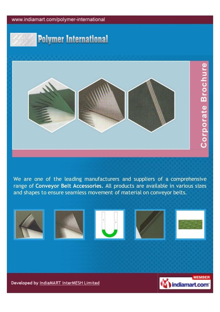Polymer International, Dewas, Belt Joint