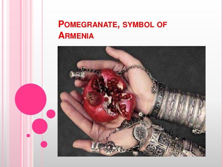 Pomegranate Symbol Of Armenia