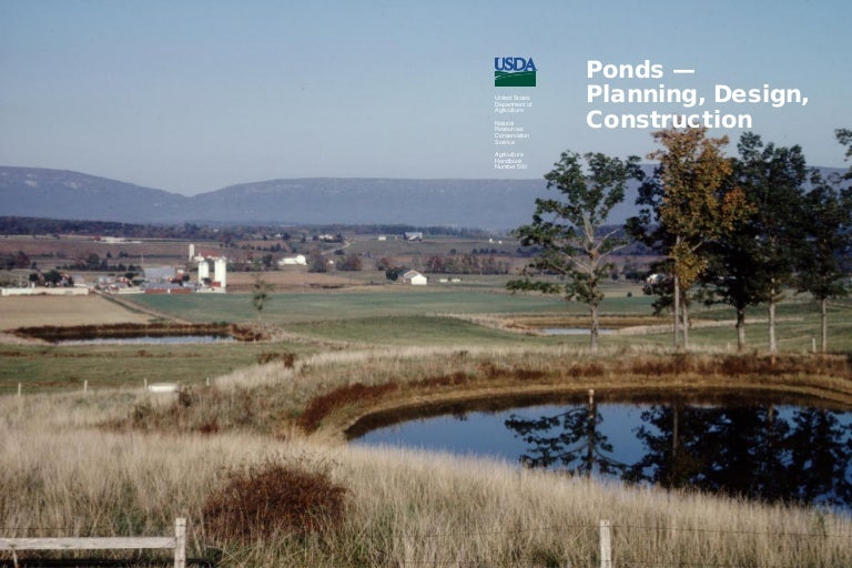 Pond Building For Farms Livestock