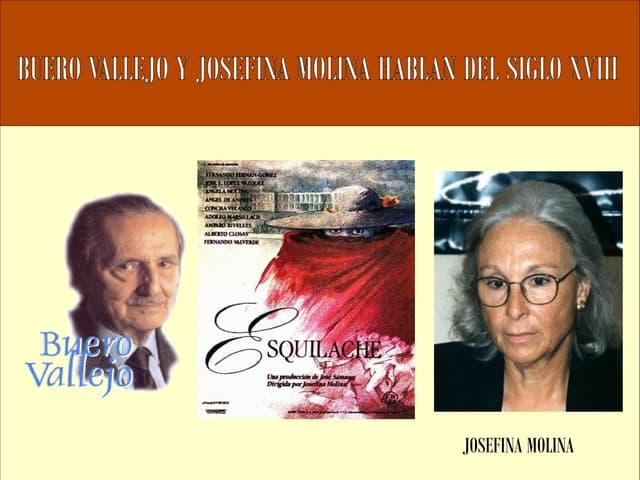 Buero Vallejo y Josefina Molina y la Ilustración