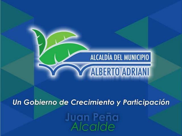 La gestión social en el municipio Adriani del estado Mérida.