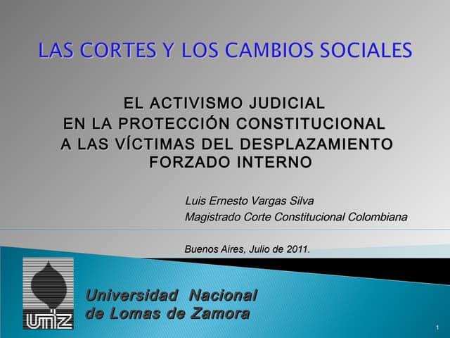 PONENCIA LEY DE VÍCTIMAS (DIPLOMADO FUNDES MÓDULO VI)