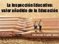 Inspección Educativa: valor añadido en Educación