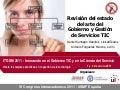 Ponencia itgsm2011 estado del arte itsm & itg v presentacion
