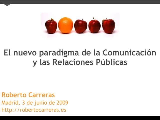 Comunicación y las Relaciones Públicas en Social Media