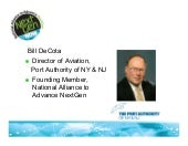 Port Authority of NY & NJ Presentation