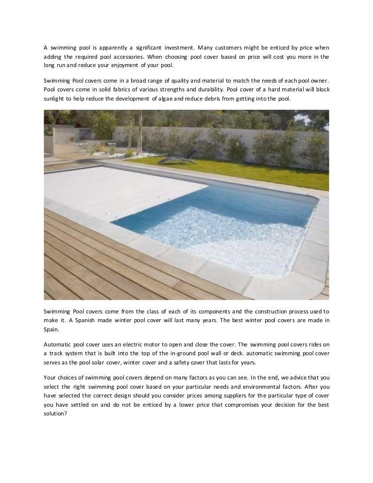 Pool cover dubai