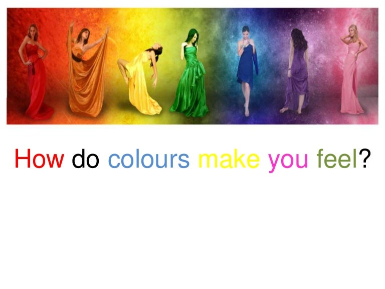 how colors make people feel