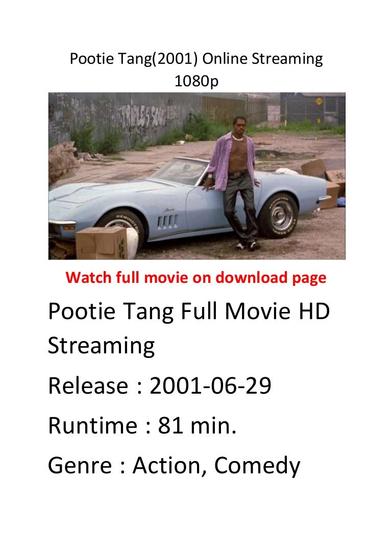 Pootie Tang 2001 Online Streaming 1080p Action Comedy Movies To Watch