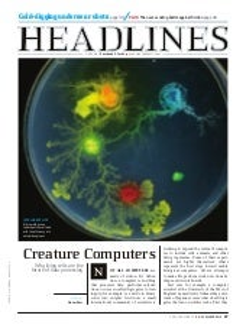 Creature Computers - Popular Science - by Adam Baer