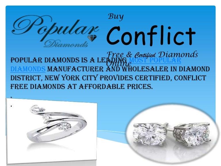 Popular Diamonds Nyc Buy Conflict Free Certified Diamonds Online