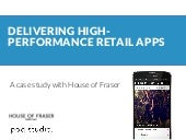 House of Fraser case study with Poq and Demandware