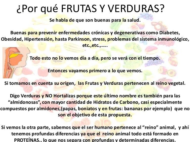 frutas verduras y hortalizas diferencias