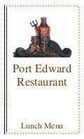 Port Edward Restaurant Lunch Menu