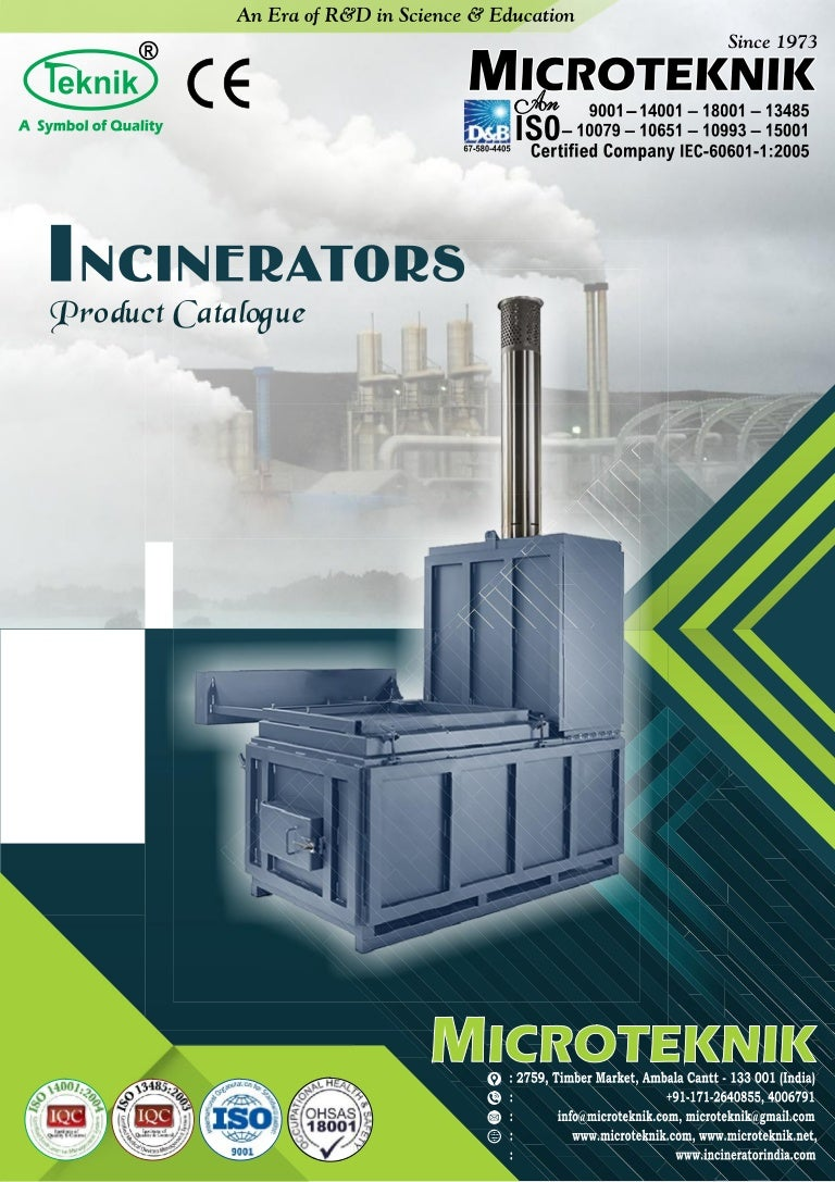 Portable mobile incinerator manufacturer from india biocorpaavc