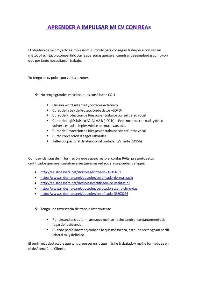 Portafolio de diagnóstico (portafolio sobre mi cv)
