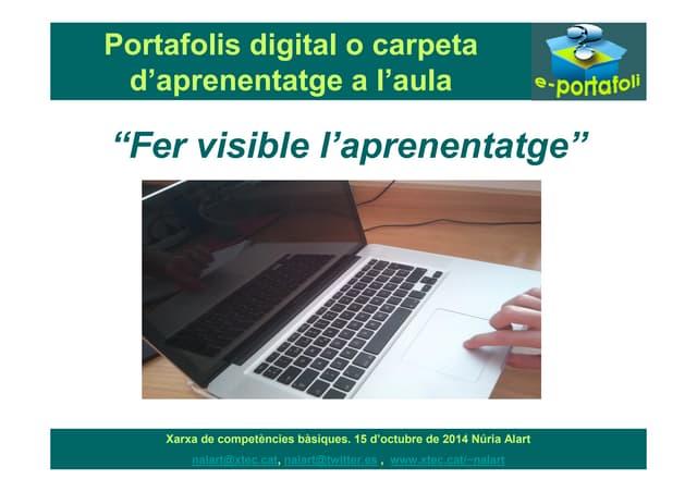 Portafolis digital aula 2014