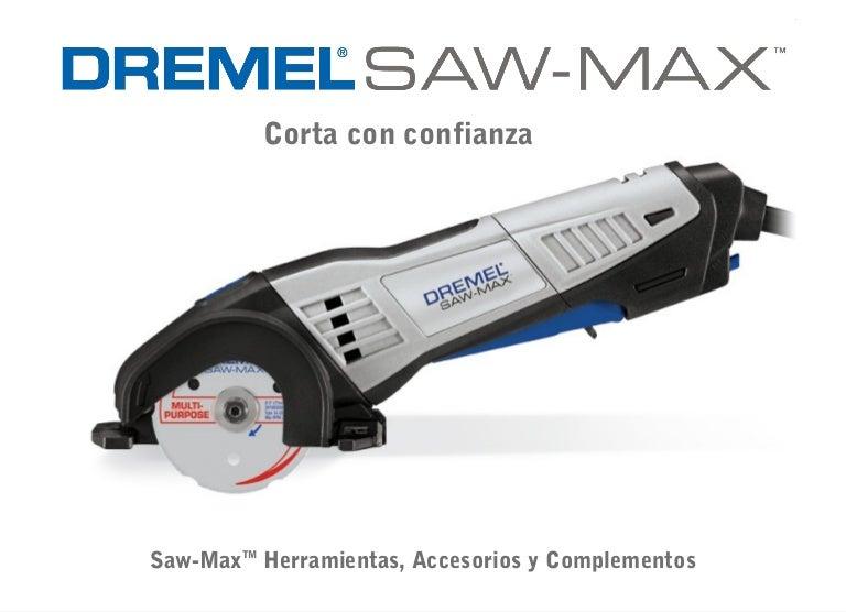 Curso Dremel SAW-MAX :: Portal de Capacitación