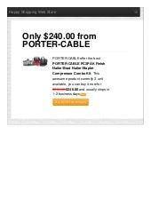 Portercable offer the best pc3pak finish nailerbrad nailerstapler compressor combo kit only 24000 reviews