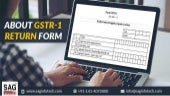 Get to Know About GSTR-1 Return Form